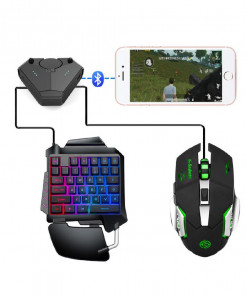 Kuulee PUBG Mobile Gaming Keyboard   Mouse   Converter AT-532