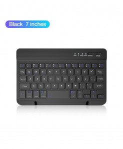 Coolreall Black Bluetooth Wireless Keyboard For IOS Ipad Android