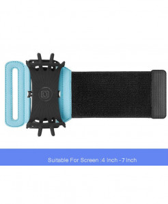 Blue Sport Phone Case On Hand Armband