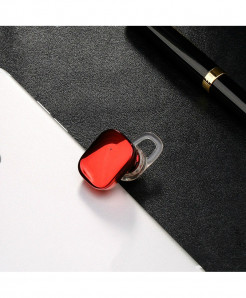 Baseus Red Mini Wireless Bluetooth Earphone