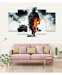 Battlefield 5 Piece HD Wall Frame SA-91