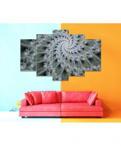 Fractal 5 Piece HD Wall Frame SA-88