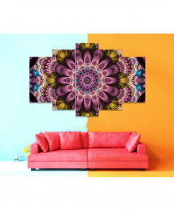 Fractal 5 Piece HD Wall Frame SA-87