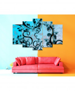 Fractal 5 Piece HD Wall Frame SA-85