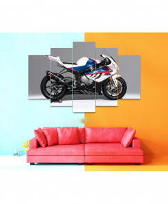 Bike 5 Piece HD Wall Frame SA-52