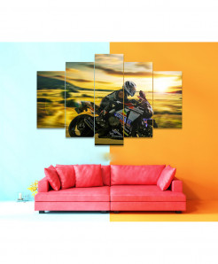 Bike 5 Piece HD Wall Frame SA-51