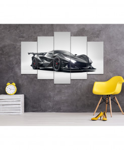 Apollo Emozione 5 Piece HD Wall Frame SA-50