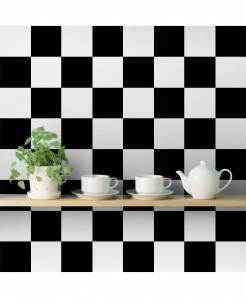 3D Chess Squares Wallpaper BNS-368