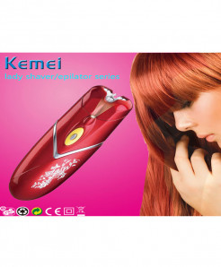 Kemei 2 in 1 Shaver Epilator For women
