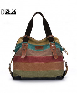 DIZHIGE Multi Patchwork Shoulder HandBags