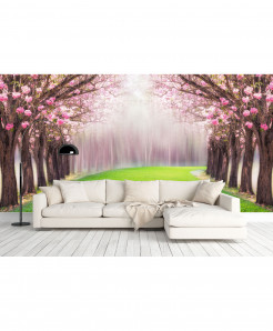 3D Magical Tree Wallpaper BNS-417