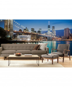 3D Lower Manhattan Wallpaper BNS-414