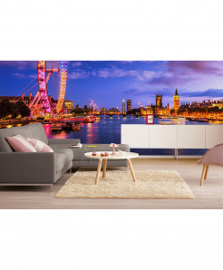3D London Eye Wallpaper BNS-412