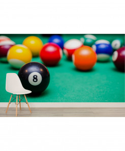 3D Eight Ball Wallpaper BNS-379