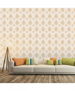 3D Damask Patten Wallpaper BNS-377