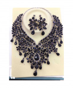 YOUFIR Black Color Magnificent Jewelry Set
