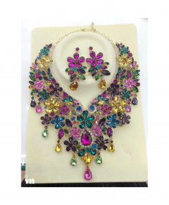 YOUFIR multiColor Magnificent Multi Color Jewelry Set