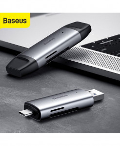 Baseus USB 3.0 Card Reader and Type-C OTG