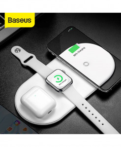 Baseus 3 in 1 Wireless Charger for iPhone Apple Watch and Airpods