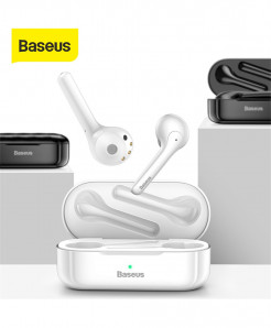 Baseus W07 TWS Bluetooth Earphone 3D Stereo with Dual Noise reduction Mic