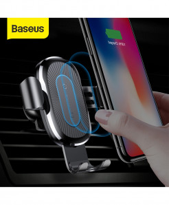 Baseus Wireless Car Charger Gravity Car Phone Holder