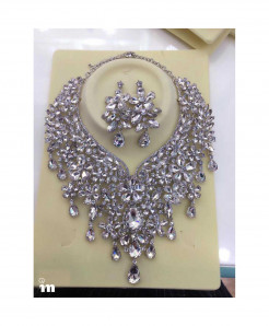 YOUFIR Silver Color Magnificent Jewelry Set