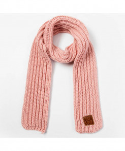 Peacesky Pink Winter Knitting Wool Scarf