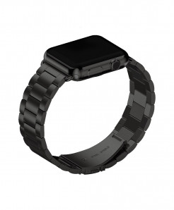 Black Stainless Steel Metal Band for Apple Watch