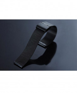 CRESTED Black Milanese Stainless Steel Band For iWatch