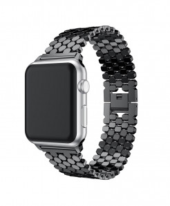JANSIN Link Stainless Steel Strap for iWatch