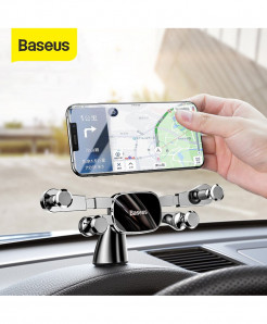 Baseus Horizontal Screen Gravity Car Phone Holder