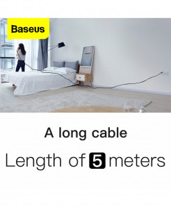 Baseus 5M 3A Type-C Charging Cable