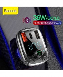 Baseus Wireless Mp3 Car Charger FM Transmitter