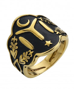 Ottomans Seal Kayi Gold Color Ertugrul Men Ring