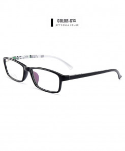 Gmei Optical Black Ultralight Flexible TR90 Optical Frame