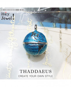 Thaddaeus 25 Sterling Silver Pendant