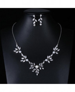 Red Trees Brand High Quality Wedding Jewelry Sets For Brides