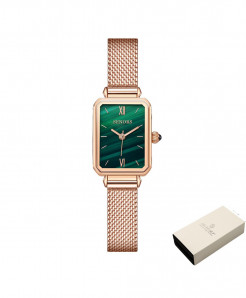 Senors Rose Golden Quartz Movement Waterproof Ladies Watch
