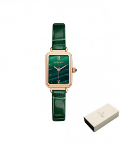 Senors Green Quartz Movement Waterproof Ladies Watch