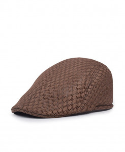 Coffee Mesh Breathable Beret Hat