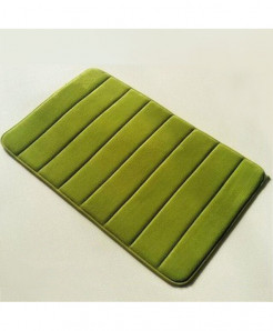 Grass Green Memory Foam Water Absorption Carpet Rug