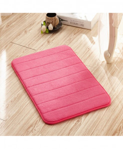 Rose Memory Foam Water Absorption Carpet Rug