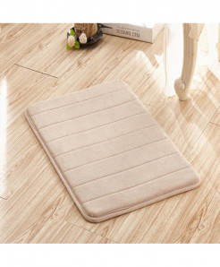 Bright Camel Memory Foam Water Absorption Carpet Rug