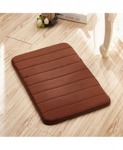 Coffee Memory Foam Water Absorption Carpet Rug