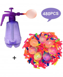 Funny Water Balloon Pumping Station with 480 Water Balloons