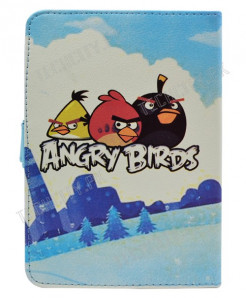 Angry Birds Flip Leather Case for 7 inch Tablet PC
