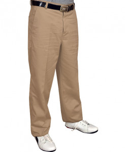 Classic Fit Dark Beige Dress Pants