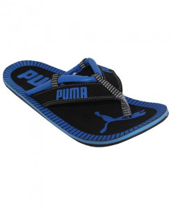 Black And Blue Drifter Cat Flip Flop Slipper SN-1306