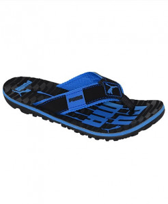 PMA Blue And Black Slipper SN-1326