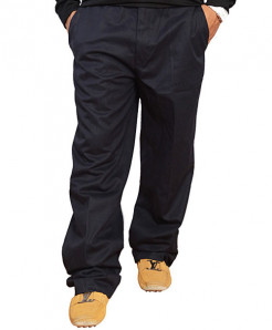 Classic Fit Dark Blue Dress Pants